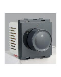 Step type fan regulator, 2 Mod, Dark Grey