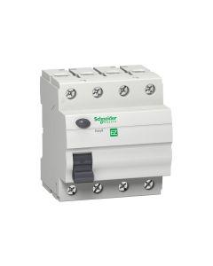 Easy9 RCCB 4P 63A 300mA AC 415V