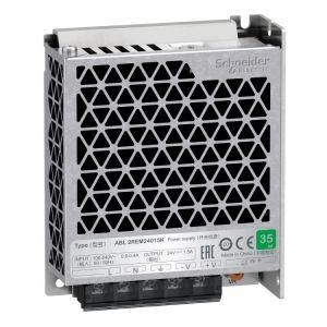single phase power supply - 100...240V input - 24V DC output - 35W - 1,5A