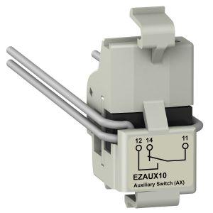 MCCB Accessory - EasyPact CVS Accessory,EZAUX10,Auxiliary Switch 1 C/O for EZC100