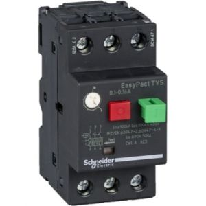 EasyPactTVS MPCB Overload Protection range of 0.1-0.16A