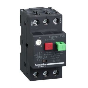 EasyPactTVS MPCB Overload Protection range of 0.16-0.25A