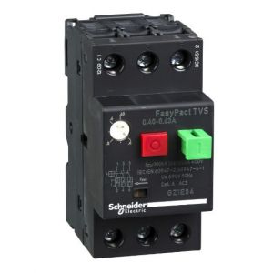 EasyPactTVS MPCB Overload Protection range of 0.40-0.63A