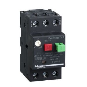EasyPactTVS MPCB Overload Protection range of 0.63-1A