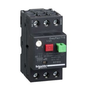 EasyPactTVS MPCB Overload Protection range of 1-1.6A