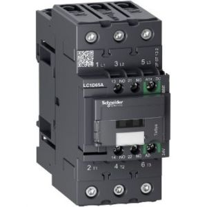TeSys 65A 3P contactor with 24V DC control
