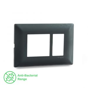 1-2 Module Grid & 1 Module Cover Frame - Pebble Grey
