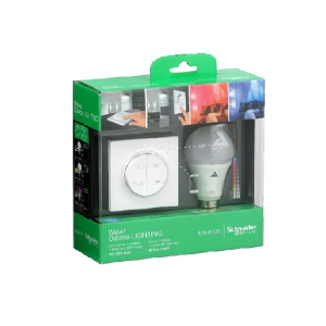 Wiser Lights- Colour Pack - Connected Switch White+ Color Bulb