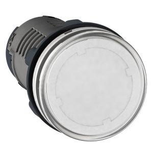 Medium XA2 Pilot Light, 24v AC/DC, white