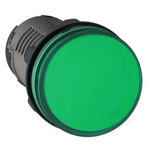 Medium XA2 Pilot Light, 24v AC/DC, Green