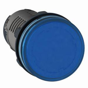 Medium XA2 Pilot Light, 24v AC/DC, Blue