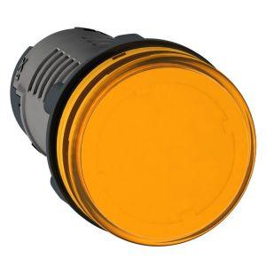 Medium XA2 Pilot Light,110v DC,yellow