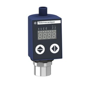 Limit and Pressure Switch,VACUUM SWITCH -1BAR 24V DC 2 PNP OUTPUTS DISPLAY G1/4A FEMALE M12 CON