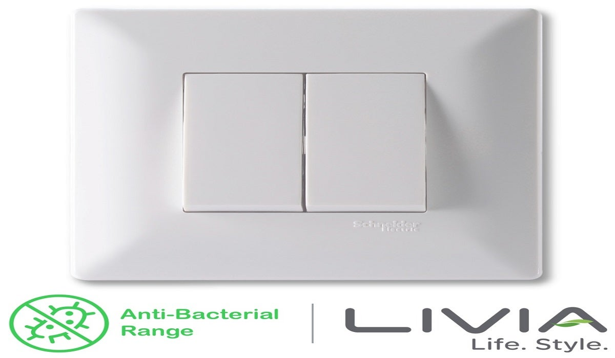 Why anti-bacterial switches are a good choice for home